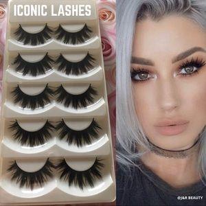 ICONIC eyelashes 5 pairs